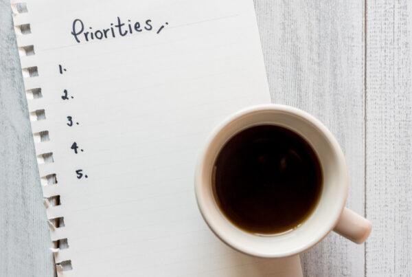 Prioriteren is van wezenlijk belang, maar hoe doe je dat?